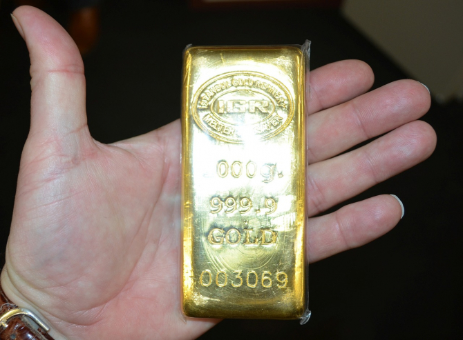 Aurul ajunge la o cotație record