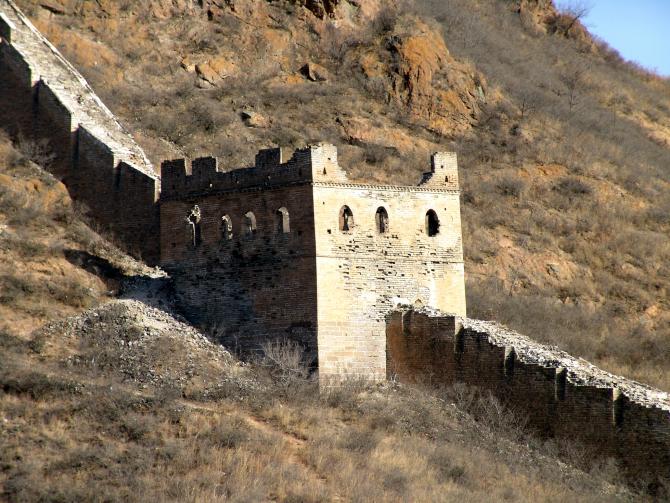 China a anunţat vineri închiderea unor porţiuni din Marele Zid