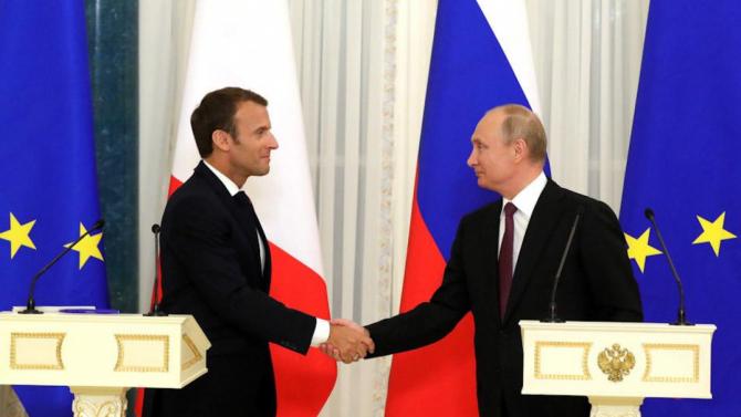 Emmanuel Macron a avut o discuție cu Vladimir Putin după uciderea generalului iranian