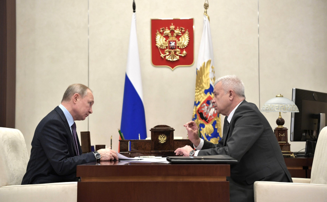 Vladimir Putin și Vagit Alekperov