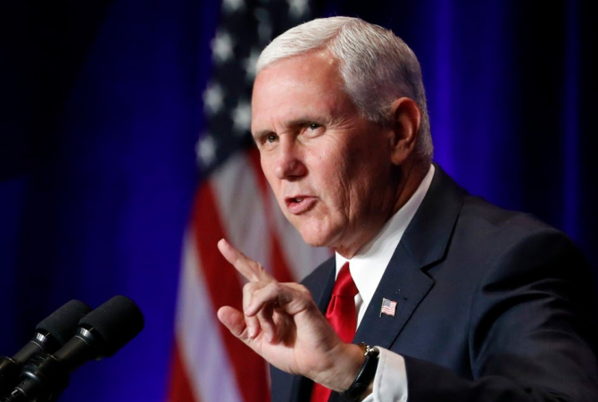 Vicepreședintele american, Mike Pence