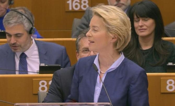 Șefa Executivului UE nu este pesimită, este hotârâtă