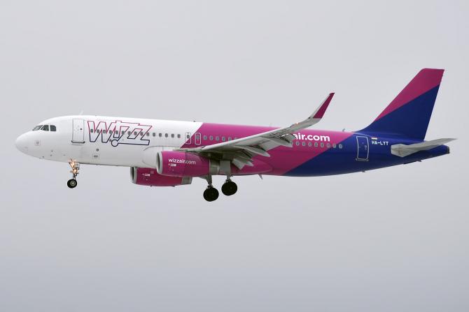 Wizz Air reduce cu 50% prețurile la biletele achiziționate ASTĂZI