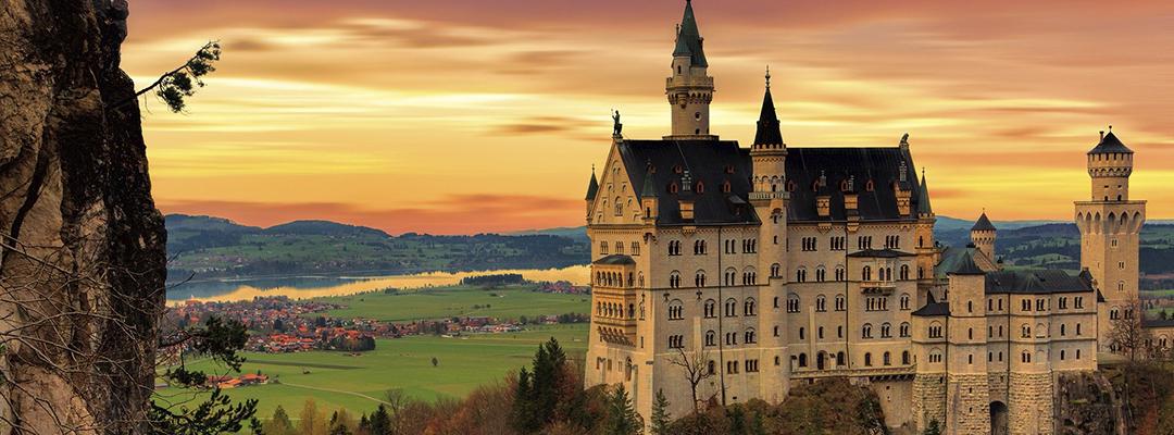 Castelul Kristin, valea Rinului, Germania
