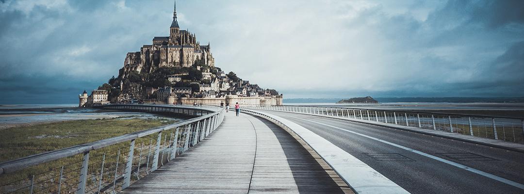 Mont Saint Michel, Franța