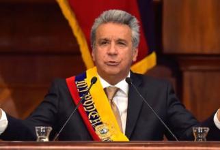 Preşedintele Ecuadorului, Lenin Moreno, şi-a expus vineri interpretarea personală a aceea ce înseamnă, în opinia sa, 'hărţuirea sexuală