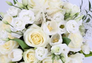 Vânzările de flori vor aduce importatorilor şi florăriilor din România o cifră de afaceri de peste 20 de milioane de euro