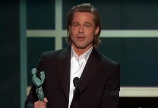 Bradd Pitt, chiar dac[ nu a fost prezent, a trimit un mesaj plin cu glume