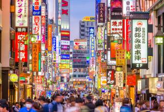 Japonia, a treia economie mondială, ar putea intra în recesiune, după ce s-a contractat în ritm anual cu 6,3% în trimestrul patru din 2019