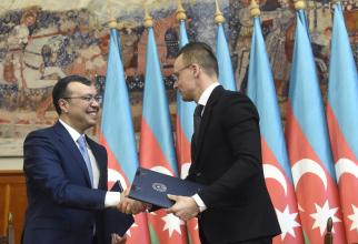 Sahil Babayev și Péter Szijjártó
