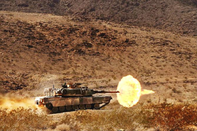 Tanc M1A1s