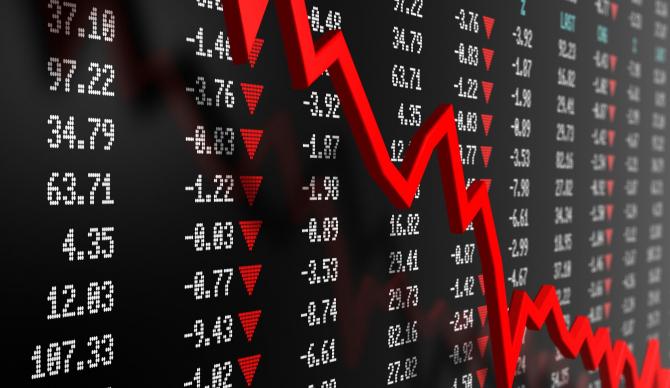 Bursa de Valori Bucureşti (BVB) a închis cu pierderi de aproximativ 8% la toți indicii