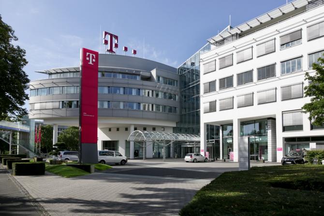 Sediul central al Telekom din Bonn