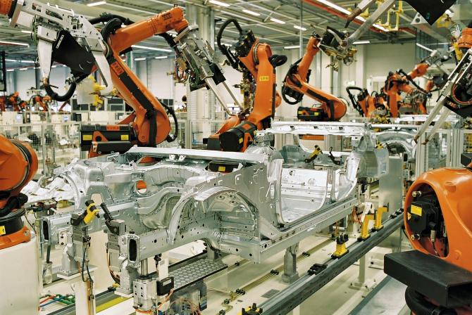 Industria auto gâfâie
