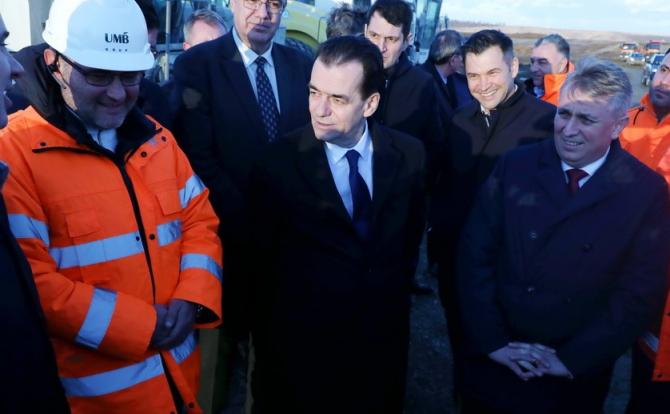 Premierul a promis că va reveni pe șantier