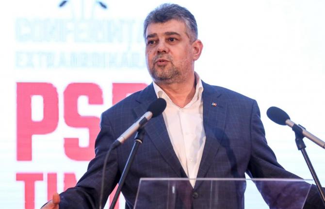 Preşedintele PSD şi al Camerei Deputaţilor, Marcel Ciolacu, încurajează cumpărarea produselor autohtone
