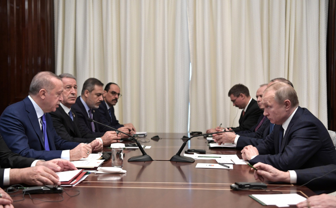 Recept Tayyip Erdogan și Vladimir Putin