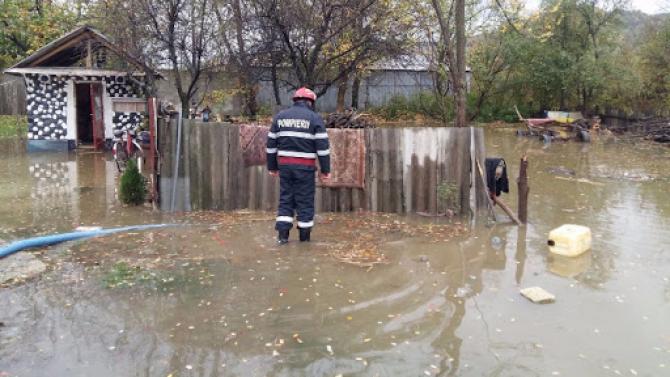 Mai multe terenuri au fost inundate