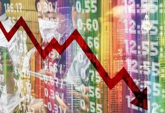 Pieţele bursiere globale au înregistrat şi miercuri scăderi semnificative