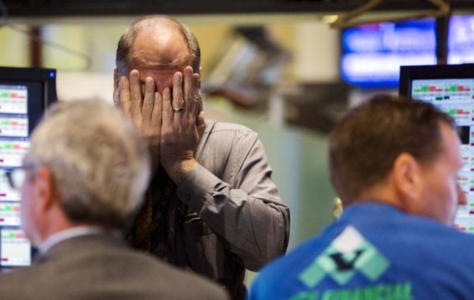 Bursa de la New York a deschis şedinţa de miercuri în scădere puternică