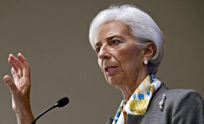 Preşedintele Băncii Centrale Europene, Christine Lagarde