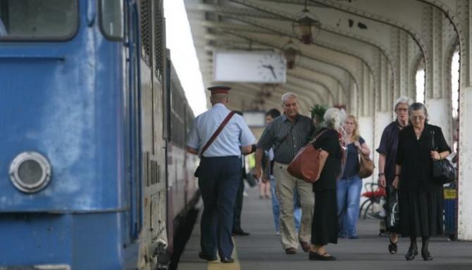 Stadiul fizic al lucrărilor la linia de cale ferată Gara de Nord - Aeroportul Otopeni este la aproximativ 65%