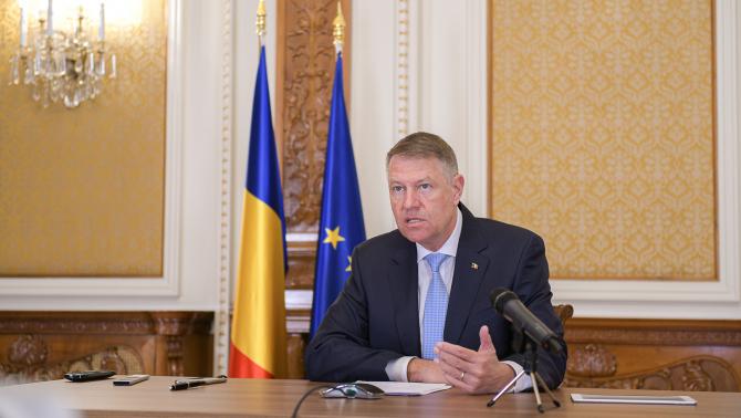 """Preşedintele Klaus Iohannis a declarat luni că """"va fi nevoie de prelungirea stării de urgenţă""""."""