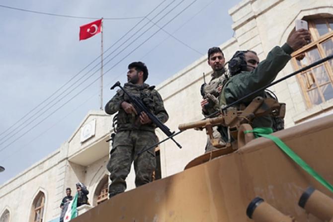 Turcia a reușit să ia sub control un teritoriu mare