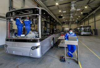 Uzina de autobuze de la Debrecen și-a reluat activitatea