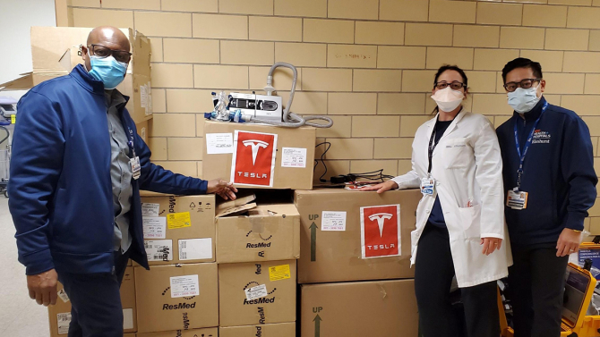Fotografia cu donația șefului Tesla pentru care Musk a devenit ținta ironiilor