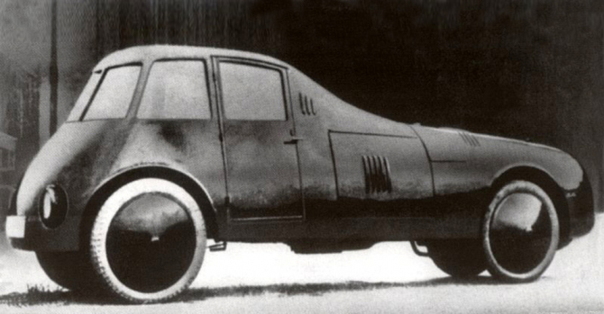 Mașina concepută de Aurel Persu