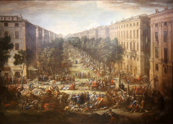Ciuma din 1720 a decimat mai mult de jumătate din populația orașului Marsilia