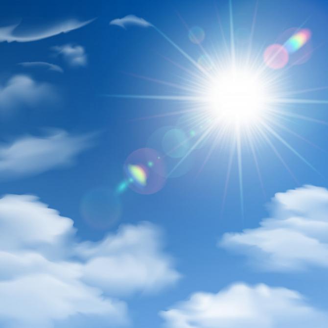 Vremea va fi călduroasă, dar instabilă în luna mai