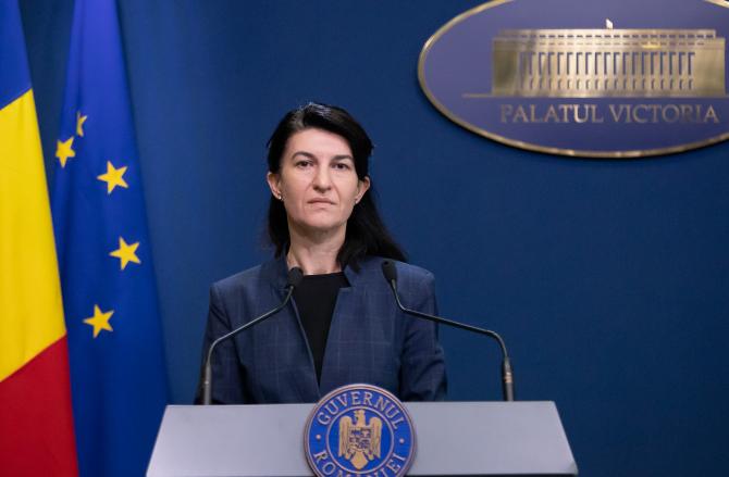 Violeta Alexandru, ministrul Muncii, a declarat că peste 1 milion de oameni vor beneficia de șomajul tehnic