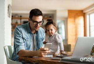 Enel oferă servicii online pentru clienți
