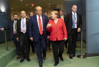 Angela Merkel a refuzat invitația lui Donald Trump