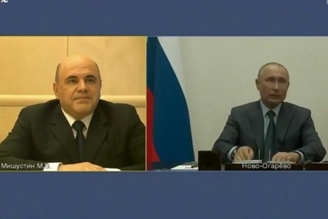 Mihail Mișutin l-a anunțat pe Vladimir Putin că a fost testat pozitiv