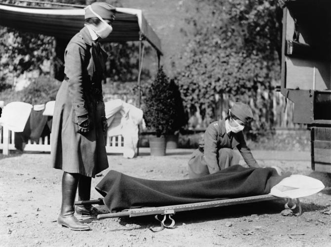 Gripa spaniolă a făcut ravagii în urmă cu 100 de ani
