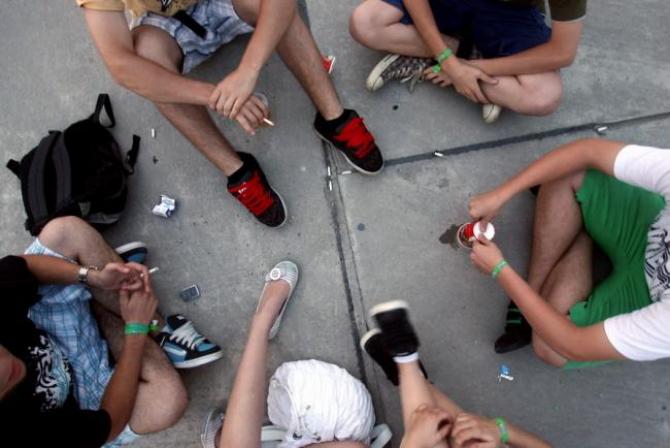 În România se fumează de la vârste din ce în ce mai mici
