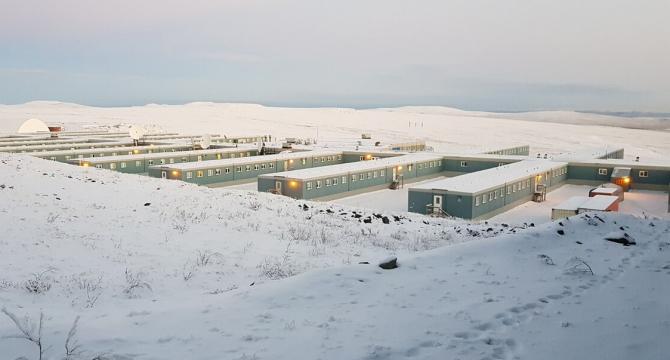 Mercurul termometrelor coboară frecvent la minus 50 de grade