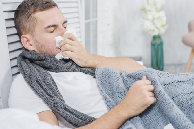 Bărbații sunt mai expuși îmbolnăvirii