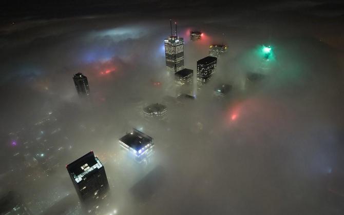 ANM: Cod galben de ceaţă şi vizibilitate redusă în 11 județe