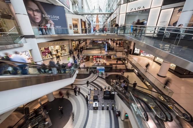 Unele mall-uri se vor redeschide