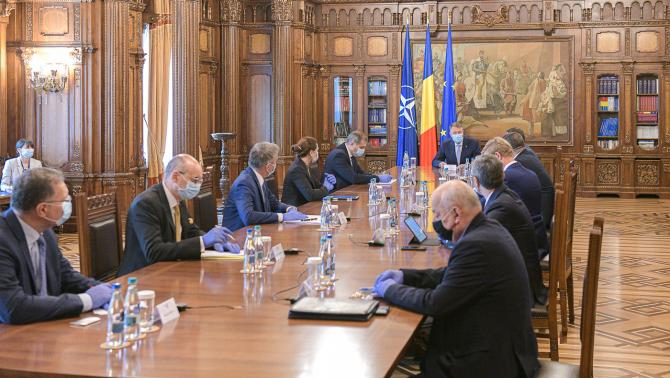 Întâlnirea lui Klaus Iohannis cu reprezentanții mediului de afaceri