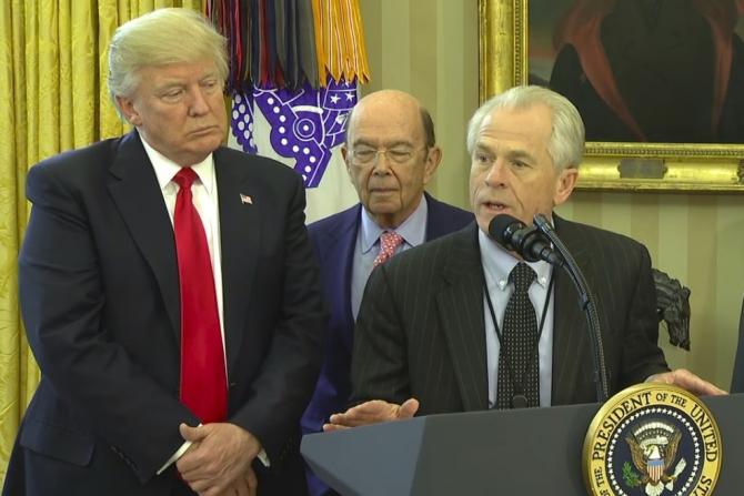Peter Navarro, un consilier cheie al președintelui Trump