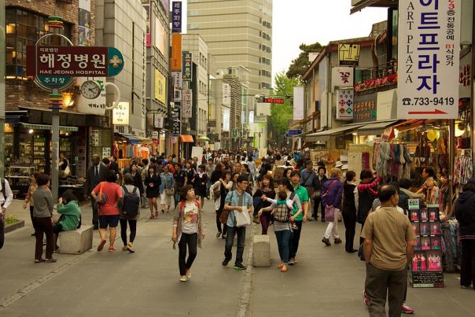 Seoul înregistrează un nou val de îmbolnăviri