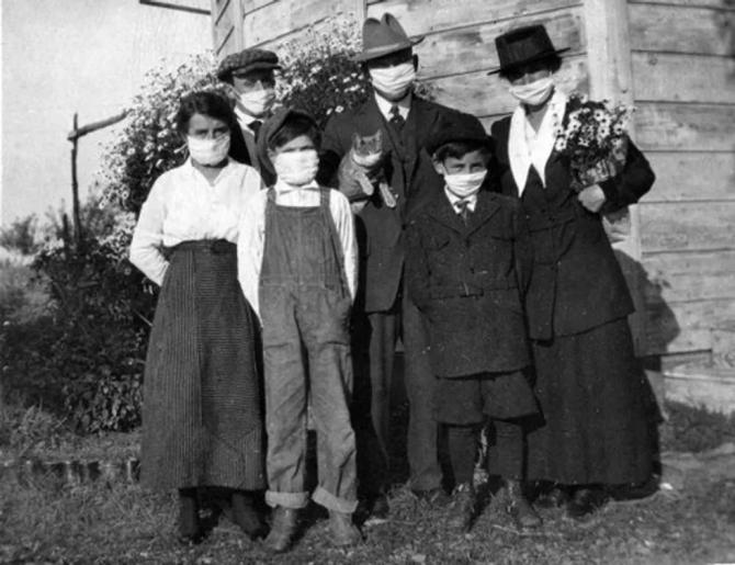 Gripa spaniolă a făcut mult mai multe victime decât Primul Război Mondial