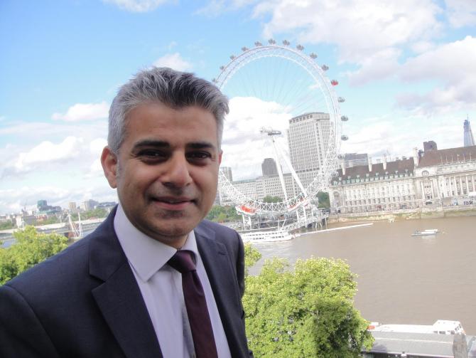 Primarul Londrei, Sadiq Khan