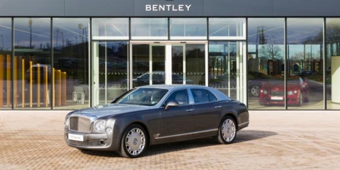 Bentley este obligată să să ia măsuri drastice