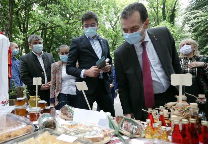Premierul României trece în revisă produse autohtone